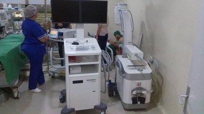 Nuevos equipos radiológicos en el Nacional