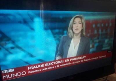 """BBC Mundo desmiente imagen sobre """"fraude electoral"""""""