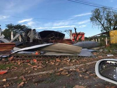 FOTOS: Tormenta dejó destrozos por todos lados