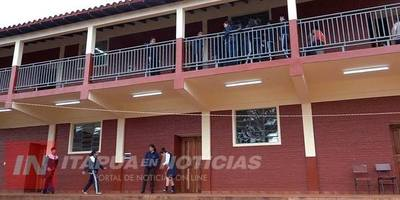 INAUGURAN OBRAS EN COLEGIO NACIONAL MARIA AUXILIADORA