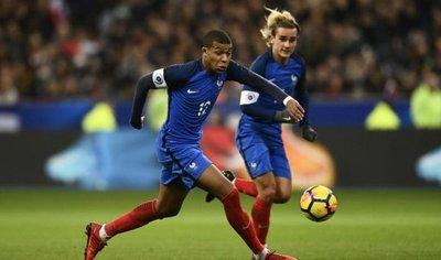 Griezmann, Varane y Mbappé lideran lista de Francia para el Mundial