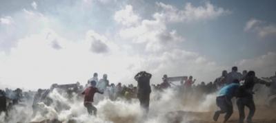 Otro baño de sangre en Gaza, con 52 muertos y 2.400 heridos en protesta contra Estado Unidos