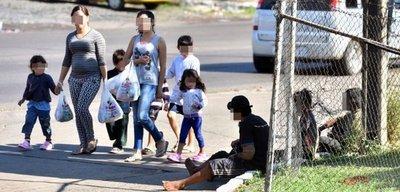Menores inhalan fana ante las narices de la policía