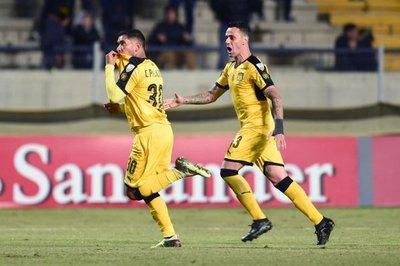 A Peñarol no le alcanzó la victoria