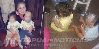 CODENI RESCATA A MADRE E HIJOS EN LA TERMINAL ENCARNACIÓN.