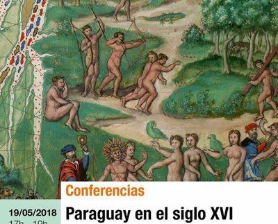 """Realizarán conferencia sobre """"Paraguay en el siglo XVI"""""""