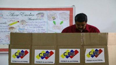 """Venezuela: """"He sido el primer votante de la patria"""""""