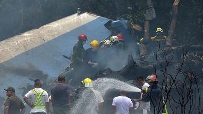 Hallaron una de las cajas negras del avión que se estrelló en Cuba