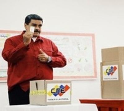 EE.UU. calificó de fraudulentas a las elecciones en Venezuela