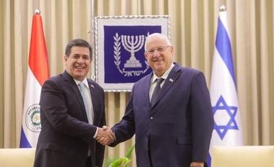 HOY / Remarcan lazos entre Paraguay e Israel y resaltan liderazgo de Cartes