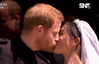 Harry y Meghan dieron el sí