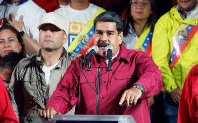 """Maduro celebró su victoria y dijo que la oposición """"quedó nocaut"""""""