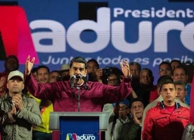 Maduro fue reelecto con 5 millones de votos