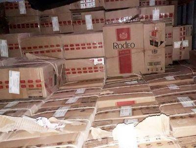 Incesante contrabando de cigarrillos de HC