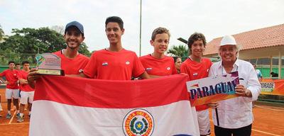 Paraguay en lo más alto del tenis sudamericano