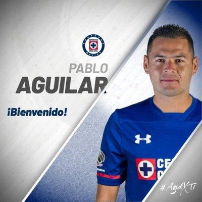 Cruz Azul, cuarto club mexicano de Aguilar