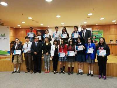 Estos son los estudiantes que representarán a Paraguay en competencia mundial de informática
