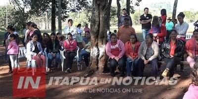 MÁS DE 200 FAMILIAS AGUARDAN AGUA POTABLE EN LA COLONIA PALMITAL DE C.A. LÓPEZ.