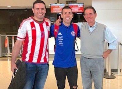 Paraguay se va al Mundial con Camarasa umía