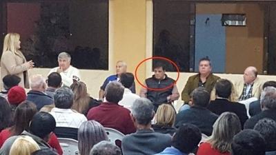 HOY / Juez participa de acto político (violando ley) y confirma que renunciará al cargo