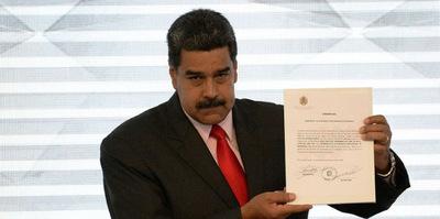Asamblea Nacional desconoce la proclamación de Maduro