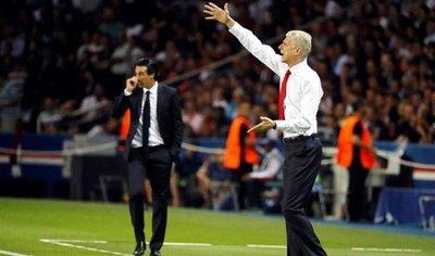 Emery: Estoy orgulloso de seguir los pasos de Arsene Wenger