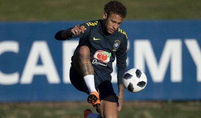 Neymar se recupera a un ritmo superior a expectativas médicas