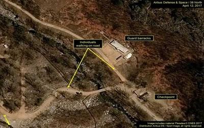 Corea del Norte hizo estallar su centro de pruebas nucleares ante periodistas