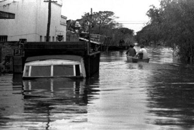 El recuerdo de Pilar bajo agua