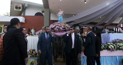 En Minga Guazú honran a María Auxiliadora