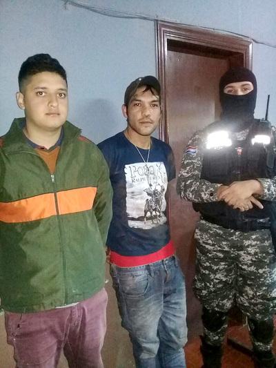 Jóvenes adictos son detenidos con crack y marihuana en San Agustín