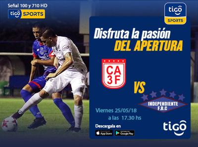 3 de Febrero recibe a Independiente, a las 17:30