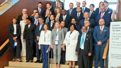 Bacigalupo detalló prioridades de Paraguay ante la Organización Mundial de Turismo