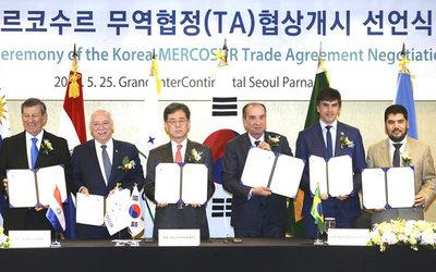 Mercosur inicia negociaciones con Corea del Sur para un acuerdo comercial