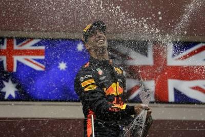 El corredor Daniel Ricciardo sigue haciendo historia en la Fórmula 1