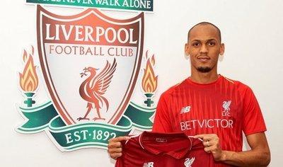 El Liverpool hace oficial el fichaje de Fabinho
