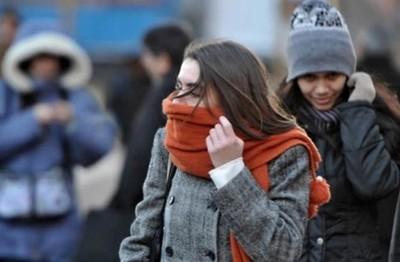 Frente frío que ingresará jueves traerá mínimas de 5º C
