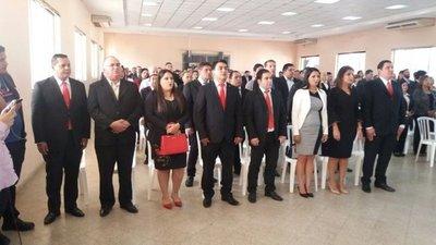 Tribunal Electoral proclamó a concejales electos en Guairá