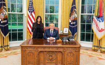 ¿Qué hacía Kim Kardashian con Donald Trump?