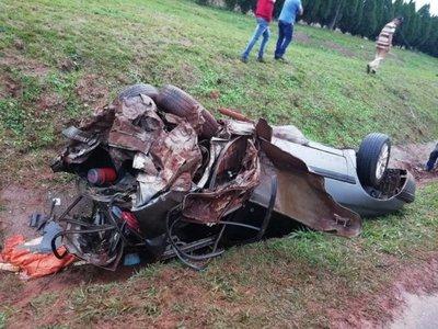 Tres lesionados tras accidente de tránsito en Pirapó