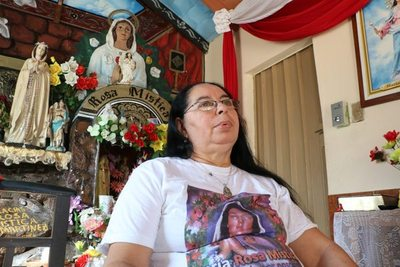 """La Virgen me curó del cáncer"""