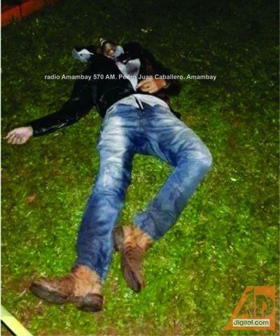 Mató a su padrastro a balazos en Karapa'i