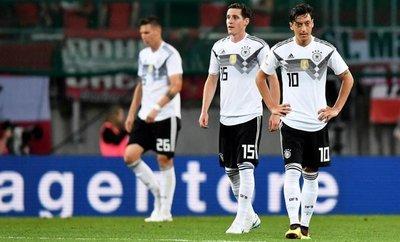 Una Alemania gris pierde ante Austria