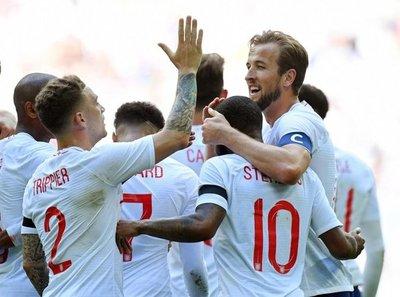 Inglaterra supera a Nigeria en Wembley