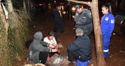 Personas en situación de calle fueron rescatadas y llevadas a albergues