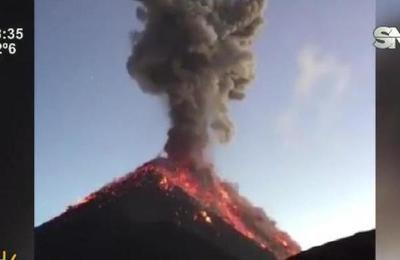 Erupción de volcán en Guatemala deja al menos 20 muertos