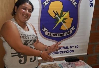 Mujer cae con drogas en Concepción