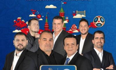"""HOY / Figuras de Telefuturo a Rusia 2018 sacan 'roncha': """"Canal 9 armó un mejor equipo"""""""