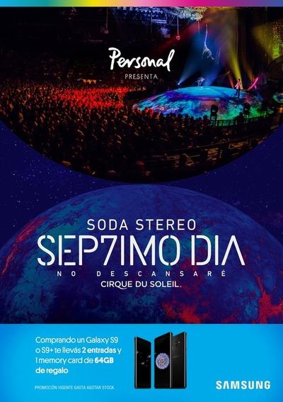 Con una promo, Samsung te invita a ser parte del Cirque du Soleil en Paraguay