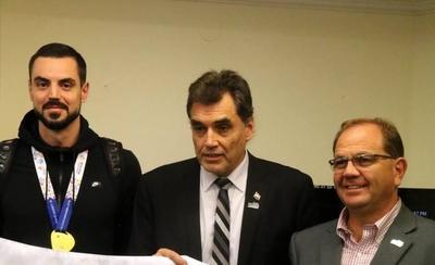 HOY / La bandera de los Juegos Sudamericanos ondeará en Paraguay hasta 2022